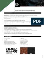 TDS Rust Killer 3 in 1