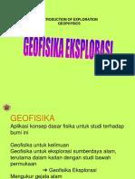 Geofisika Eksplorasi (UGM)