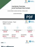 SouthEast Asia and Global Humanitarian Movement (Agung Notowiguno)