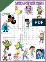 health problems vocabulary esl crossword puzzle worksheet for kids.pdf