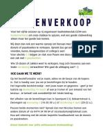 2019 DZ Koekenverkoop - Bestelformulier
