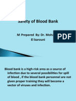 Safety Blood Bank by-dr.mohamed Barouni 222