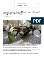 The Bull Market Began 10 Years Ago; Why Aren't More People Celebrating_, Executive Money - The BUSINESS TIMES