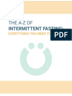The A-Z of intermittent fasting