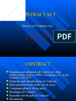 Contract Acceptance & Offer