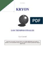 LEE CARROLL - Kryon 1 Los Tiempos Finales