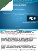 Baza de Date Privind Gestionarea Activităţii de Marketing Într-o Companie