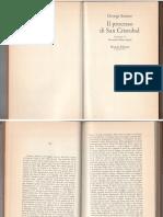 G. STEINER, Il Processo Di San Cristobal