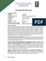 programacion anual Cy T 3ro secundaria.docx
