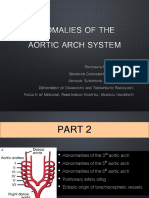 Topic CVS - Anomalies of Aortic Arch System Part 2
