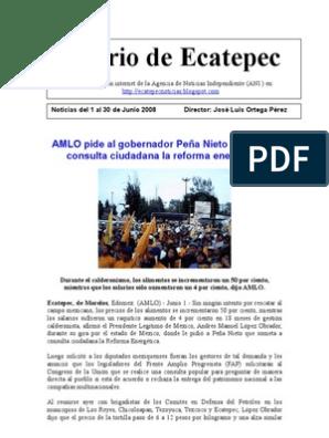 Diario De Ecatepec Noticias Del 1 Al 30 De Junio Enrique