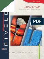 Nivelco NivoCap Continuous Level Measurement Brochure