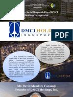 CSR of DMCI Holdings Presentation