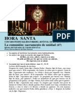 HORA SANTA Con San Pedro Julián Eymard. La Comunión, Sacramento de Unidad (66)