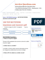 100 TOP RECTIFIERS Questions and Answers pdf RECTIFIERS Questions.pdf