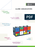Alarm Annunciator Catalogue 2017
