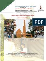 Brochure Research Methodology.course Application Tsak Nlsiu.