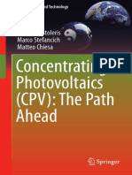 (Green Energy and Technology) Apostoleris, Harry_ Chiesa, Matteo_ Stefancich, Marco - Concentrating Photovoltaics (CPV) _ the Path Ahead-Springer (2018)