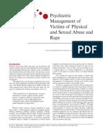 Manejo de Victimas de Abuso y Violacion