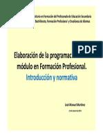 Tutoría 1. Elaboración de Una Programación en FP Introducción y Normativa_1