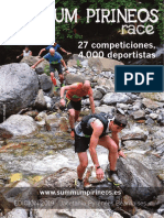 Jacetania. Guia Deportiva Summum Pirineos Race 2019