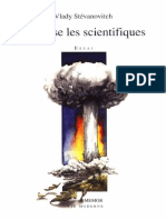 J'accuse les scientifique - Vlady Stevanovitch