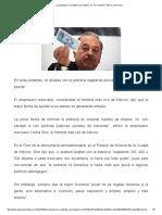 """La Pobreza Se Combate Con Trabajo, No """"Con Caridad"""" Afirma Carlos Slim"""