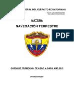 Navegación Terrestre