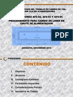 Cambio liners chute de alimentacion- Presentacion.pdf