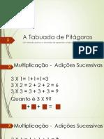 A Tabuada de Pitágoras