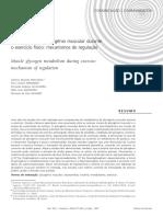 metabolismo de glicogênio