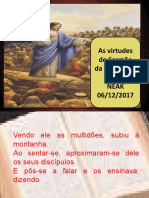 As Virtudes Do Sermão Da Montanha