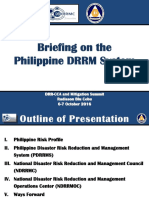 NDRRMC Philippine DRRM System