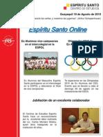 Boletín Agosto de 2010