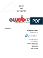 Gap Analysis of E-Web(1st Version).docx