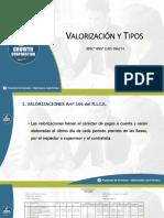 1. Presentación PPT - Valorizaciones y Tipos (2)