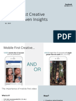 Mobile First Creative