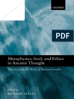Ricardo Salles - Metaphysics, Soul, and Ethics in Ancient Thought_ Themes from the Work of Richard Sorabji (2005, Oxford University Press, USA).pdf
