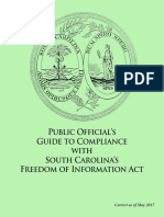 S.C. Freedom of Information Act guide