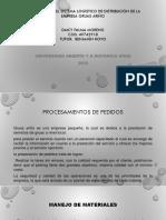 Diagnóstico Del Sistema Logístico de Distribución de La ARIÑO 2