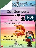 Cuti Cuti Malaysia 2019 TCR IZAN