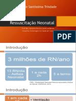 Ressuscitação Neonatal