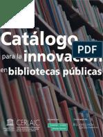 Catálogo para La Innovación en Bibliotecas Públicas