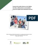 Impacto de La Presencia de Comida Chatarra en Las Comunidades de Guerrero