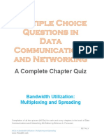Bandwidth Utilization - Multiplexing and Spreading