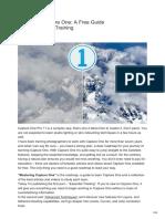 AlexOnRAW.com PDF Mastering Capture One a Free Guide Part I Essential Training