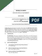 Abridged Executive Order No. 4 of 2019
