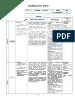 Planificacion Anual 6 Basico.
