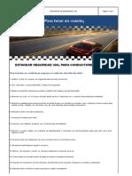 Estándar Seguridad Vial (Conductores de Carro) ARL