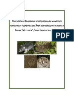 CYNTHIA REYES HARTMANN Programa de Monitoreo de Mamiferos APFF Metzabok.pdf